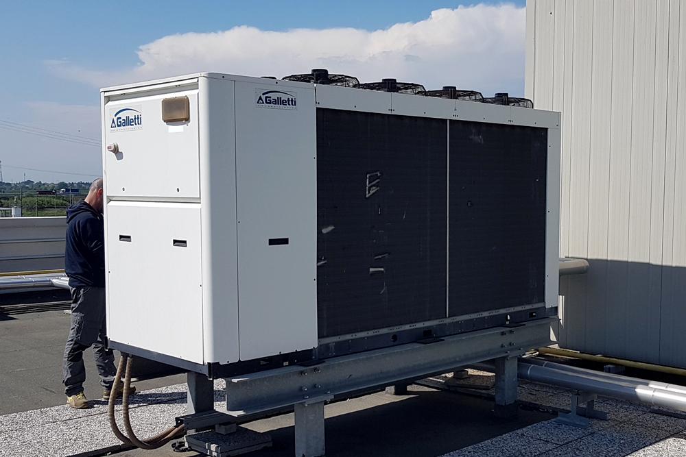 generatore di calore rapallo